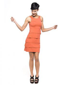 Vestido de mujer AURAREF 3994