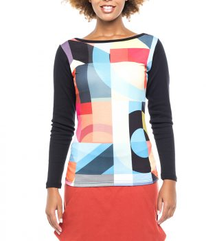 camiseta mujer abstracta ref 3915
