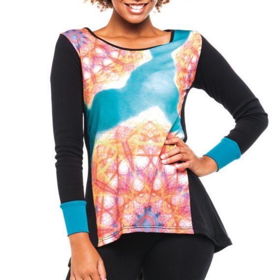 camiseta mujer caleidoscopio ref 3893