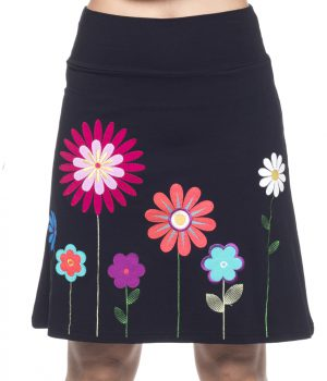 falda 3716 flores l ineal yoelcollection