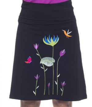 falda bordada 3723 yoelcollection
