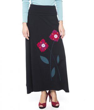 falda larga mujer flor mandala ref 3773