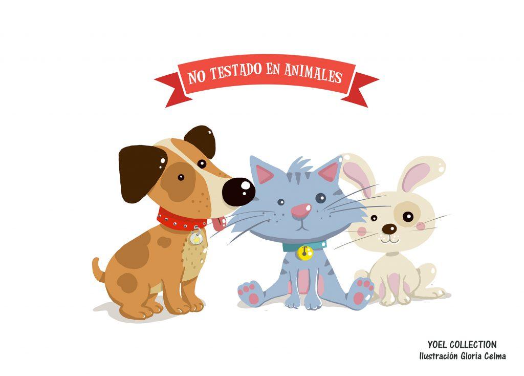 Utiliza productos no testados en animales