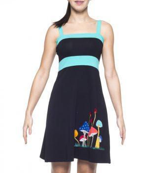 vestido bordado 3681 yoelcollection